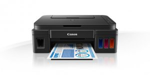 CANON G2400 - Pixma - MultiFunction 3 in 1 Printer - Black photo