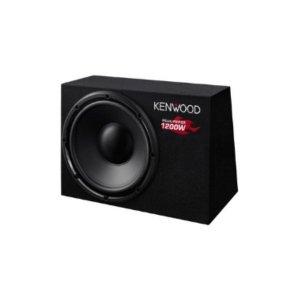 Kenwood Boxed Subwoofer KSC-W1200B 1200W photo