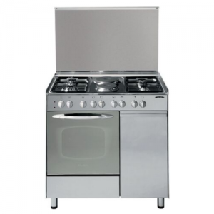 4 GAS+ 2 ELECTRIC + GAS COMPARTMENT STAINLESS STEEL ELBA COOKER- EB/165 photo