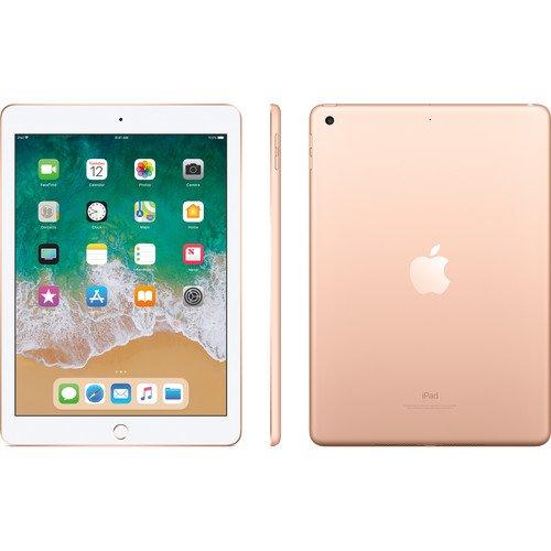"Apple IPad 9.7 (2018) (6th Generation) Tablet: 9.7"" Inch - 2GB RAM - 128GB ROM - 8MP Camera - 4G LTE By Apple"