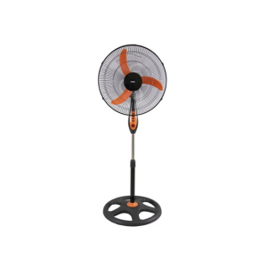 "MIKA Stand Fan, 18"", Orange & Black  MFS1811/OB photo"
