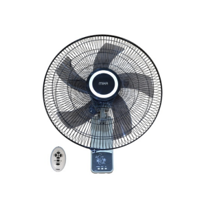 "MIKA Wall Fan, SMART, 18"", With Remote, Grey & Black MFW183R/GB photo"