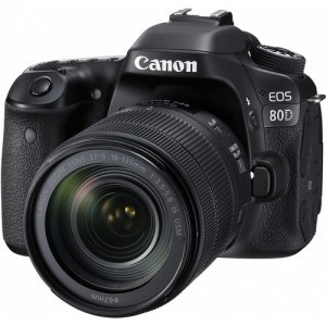 Canon EOS 80D DSLR Camera with 18-55mm Lens photo