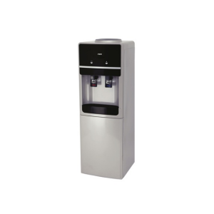 MIKA Water Dispenser, Standing, Hot & Cold, Compressor Cooling, Silver & Black MWD2404/SBL photo