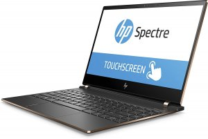 "HP Spectre x360 13-ae091ms Core i7-8550U 1.8GHz 256GB SSD/8GB/13.3"" 4K Gorilla Glass Touch/Wifi/backlit kybd/BT/win 10/silver photo"