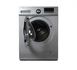 VON HOTPOINT HWF-708S FRONT LOAD WASHING MACHINE SILVER 7KG + FREE 2KG ARIEL DETERGENT & 1L DOWNY SOFTENER photo