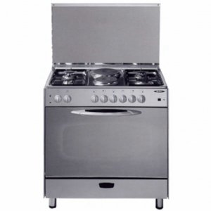 4 GAS+2 ELECTRIC STAINLESS STEEL ELBA COOKER- EB/145 photo