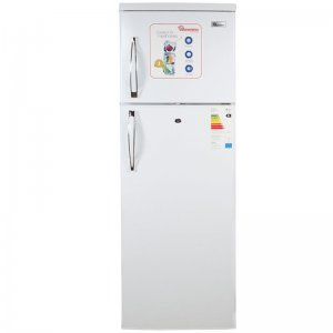 213 LITERS 2 DOOR DIRECT COOL FRIDGE, WHITE- RF/216 photo