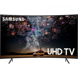 Samsung 65 inch HDR UHD 4K Smart Curved LED TV UA65RU7300K (2019 MODEL) photo