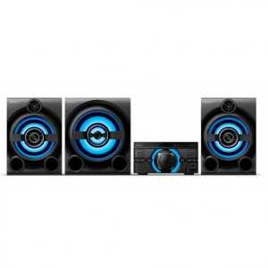 Sony MHC-M80D High Power Audio System(2150W RMS)- Pair up to  3 Smart Phones photo