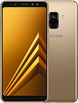 """Samsung A8 2018 64GB  5.6"""" Front Cam:16MP+8MP  Back Cam:16MP Free Delivery photo"""