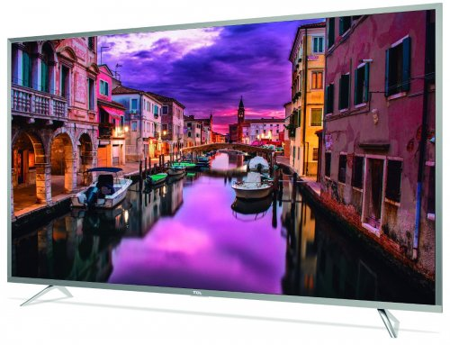 TCL 65 Inch 4K Ultra HD LED Smart Android TV, Black - 65P2UD By TCL