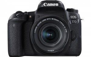 Canon EOS 77D DSLR Camera With 18-135mm photo