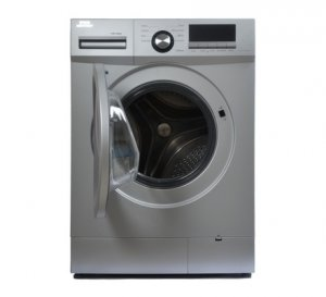 VON HOTPOINT HWF-608S FRONT LOAD WASHING MACHINE SILVER 6KG + FREE 2KG ARIEL DETERGENT & 1L DOWNY SOFTENER photo
