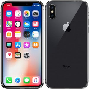 "Apple IPhone X, 5.8"", 256GB (Single SIM) Space Grey/Silver photo"