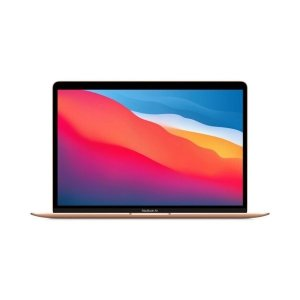 """Apple MacBook Air With M1 Chip 8GB RAM 256GB SSD 13.3"""" Retina Display (Late 2020, GOLD)- MGND3 LL/A photo"""