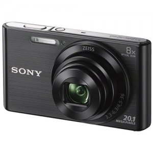 Sony DSC-W830 Digital Camera (Silver/Black) photo