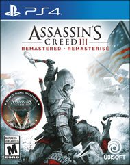 Assassin's Creed 3(III) Remastered for PlayStation 4 By Sony