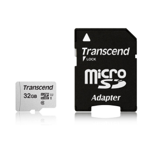 Transcend 32GB MicroSD W/ Adapter UHS-I U1 photo