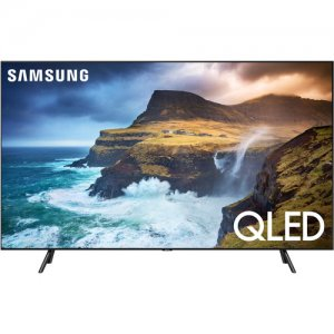SAMSUNG 65 Inch Class 4K Ultra HD (2160P) HDR Smart QLED TV QA65Q70R (2019 Model), photo