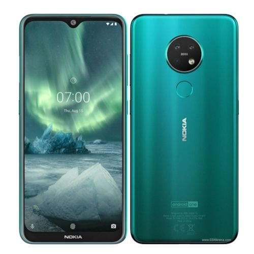 "Nokia 7.2 6.3"" inch - 6GB RAM - 128GB ROM - 48MP+8MP+5MP Triple Camera - 4G - 3500 mAh Battery By Nokia"