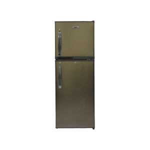MIKA Refrigerator, 168L, Direct Cool, Double Door, Dark Silver photo