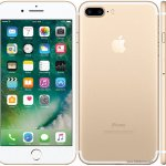Apple IPhone 7 Plus 5.5 Inch Dual 12MP 128GB 3GB RAM  Gold/R.Gold Free Delivery By Apple