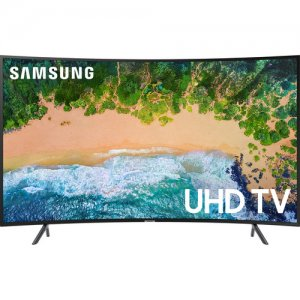 Samsung 55 inch HDR UHD Smart Curved LED TV (UA55NU7300K/55NU7300 2018 Model) photo