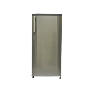 MIKA Refrigerator, 190L, Direct Cool, Single Door, Hairline Silver photo