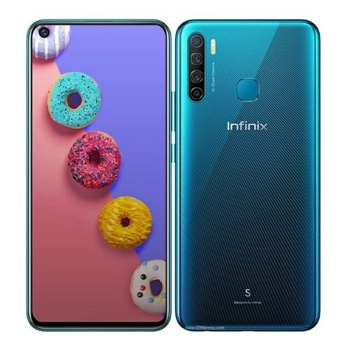 "Infinix S5 (X652)  - 6.6"" inch - 6GB RAM - 128GB ROM - 16MP+5MP+2MP+AI Camera - 4G - 4000 mAh Battery By Infinix"