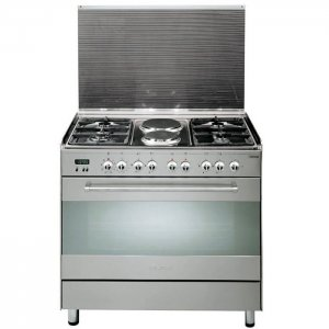 ELBA  4 GAS+ 2 ELECTRIC STAINLESS STEEL ELBA COOKER- EB/174 photo