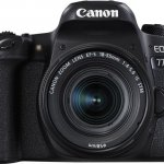 Canon EOS 77D DSLR Camera With 18-55mm By Canon