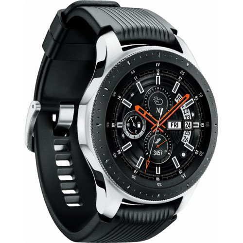 Samsung Galaxy Watch (Silver, 46mm, Bluetooth) - R800 By Samsung
