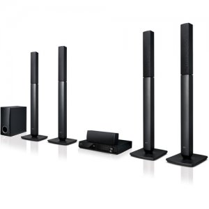 LG LHD457 5.1-Ch 300W RMS Bluetooth DVD Home Theater System photo