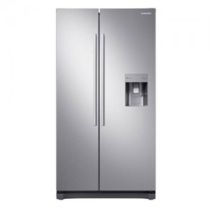 Samsung RS52N3B13S8 Side by Side Fridge, 520L - Silver photo