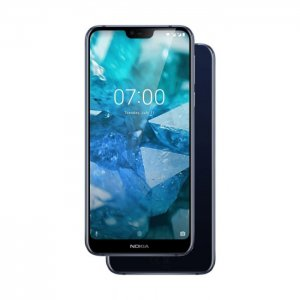 "Nokia 7.1 64GB 4GB RAM 5.8"" -[Gloss midnight blue, gloss steel] photo"