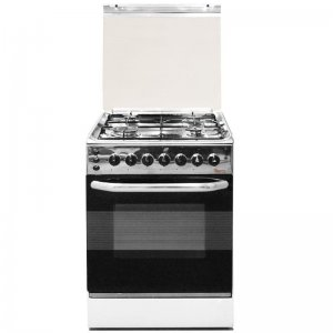 4 GAS 50X50 STAINLESS STEEL COOKER 5695- EB/301 photo