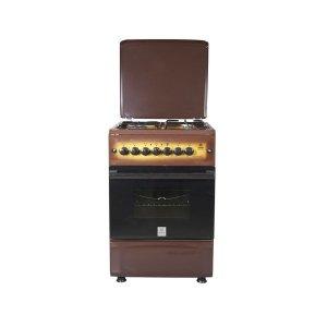 MIKA Standing Cooker, 50cm X 55cm, 3 + 1, Electric Oven, Light Brown TDF - MST55PI31DB/HC photo
