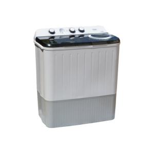 MIKA Washing Machine, Semi-Automatic Top Load, Twin Tub, 9Kg, White & Grey - MWSTT2209 photo