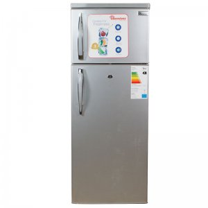 213 LITERS 2 DOOR DIRECT COOL FRIDGE, SILVER- RF/217- photo