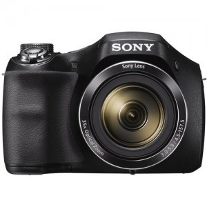 Sony DSC-H300 20.1-Megapixel Digital Camera (Black) photo