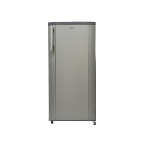 MIKA Refrigerator, 190L, Direct Cool, Single Door, Moon Silver photo