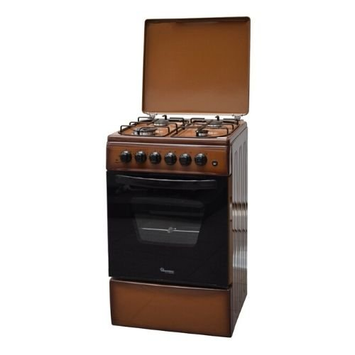 RAMTONS 4GAS+ELECTRIC OVEN 50X50 BROWN COOKER- RF/315 By Ramtons