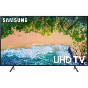 Samsung 55 inch HDR 4K UHD Smart Flat LED TV (UA55NU7100K/55NU7100 2018 Model photo