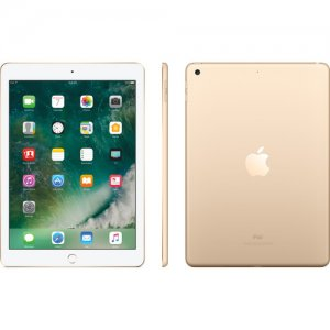 "Apple IPad 9.7 (2017) (5th Generation) Tablet: 9.7"" Inch - 2GB RAM - 128GB ROM - 8MP Camera - 4G LTE - 8827mAh Battery A1822 photo"