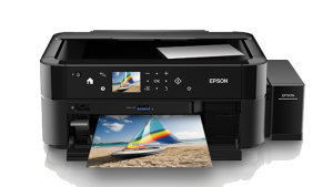 Epson L850 Photo All-in-One Ink Tank Printer photo