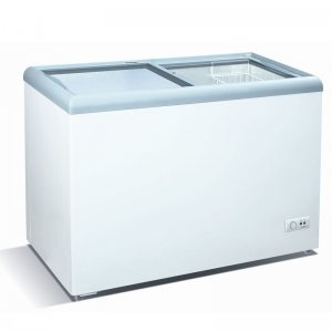 206 LITERS GLASS TOP CHEST FREEZER - CF/244 photo