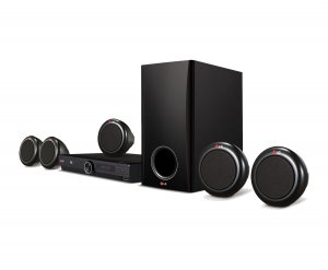 LG DH3140S 300 Watt 5.1 DVD Home Theater System photo