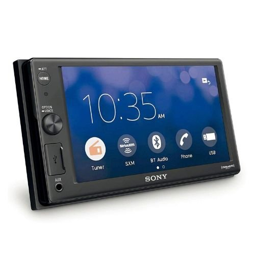 """Sony XAV-AX1000  6.2"""" Apple CarPlay, Bluetooth, and more to your dash By Sony"""
