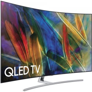 Samsung 55 inch QLED  HDR UHD Smart Curved  TV -QA55Q7C photo